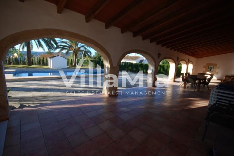 Villa in Javea for long term rental VMR 2855