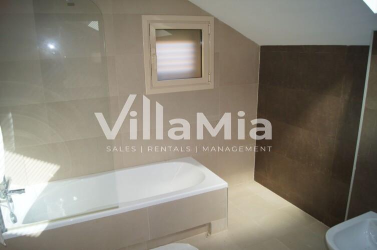 Penthouse in Javea for long term rental VMR 2871