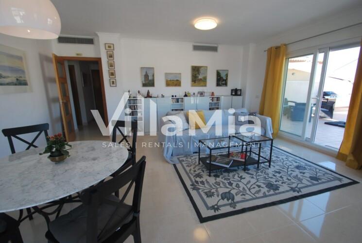 Penthouse in Benitachell for winter let VMR 2822