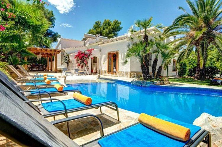 Villa in Javea for winter let VMR 2295