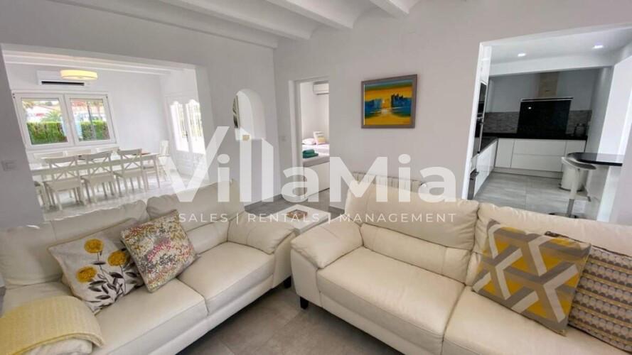 Villa in Javea for winter let VMR 2856
